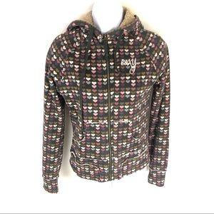 Roxy Women's Winter Jacket Hearts S